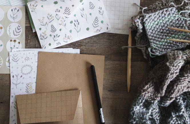 co to snail mail ręcznie robione tutoriale diy