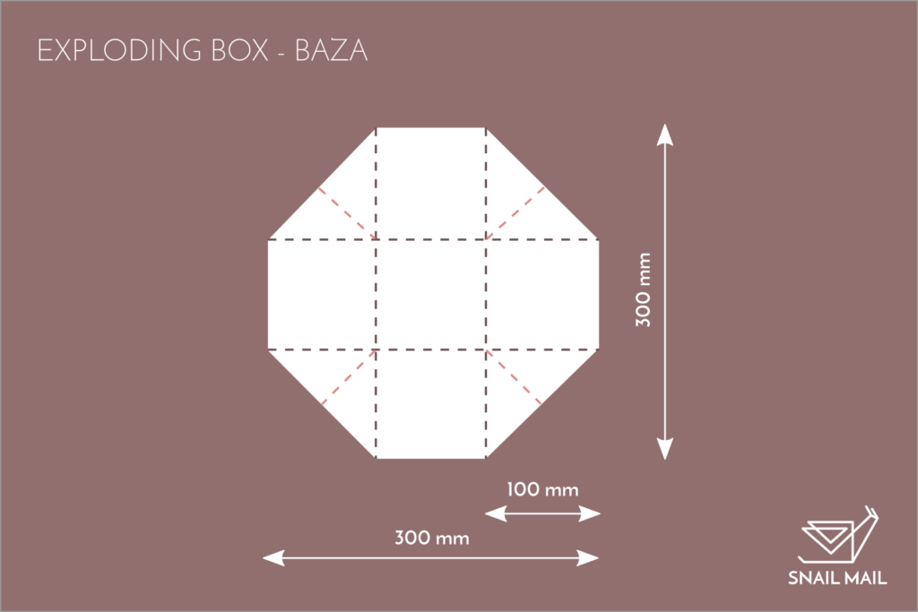 tutorial baza baza exploding box jak zrobić