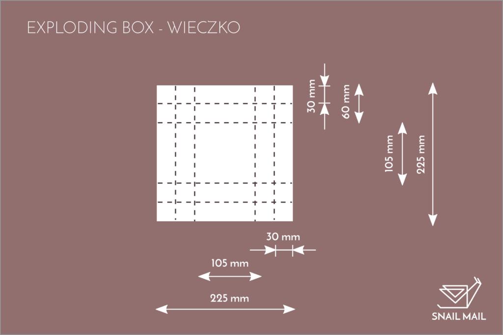 tutorial baza baza exploding box jak zrobić diy