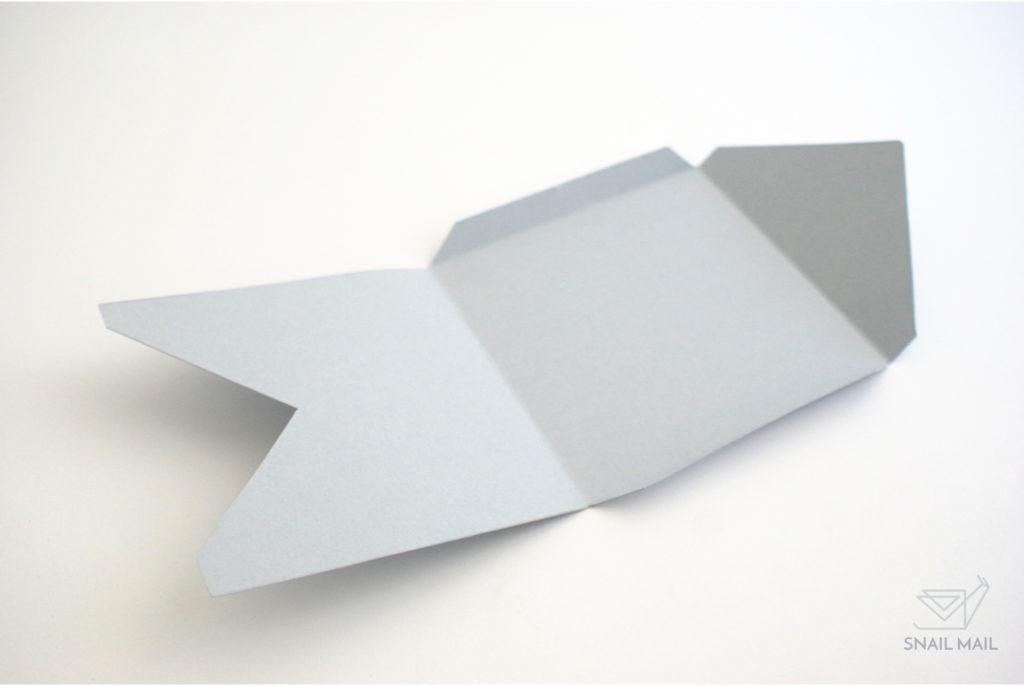 jak zrobić kopertę tutorial diy