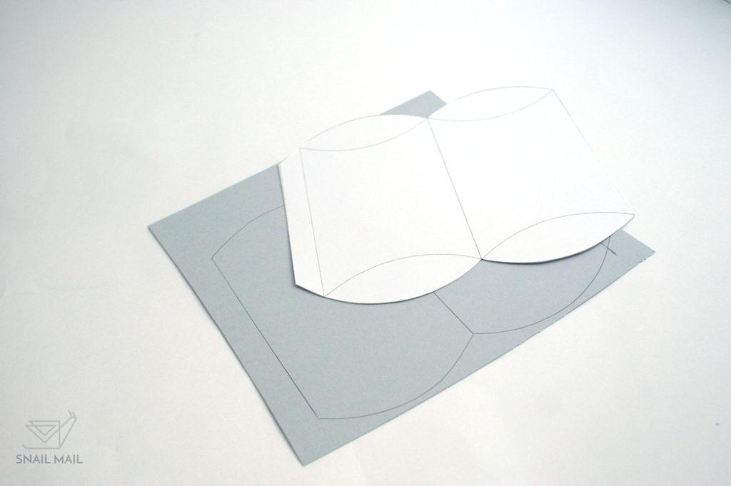 jak zrobić pudełeczko diy darmowy szablon