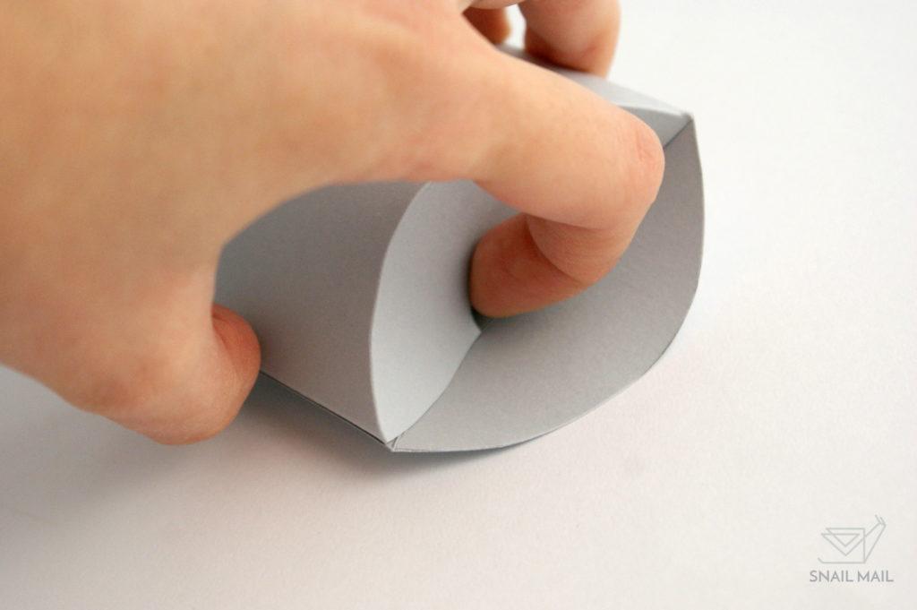 pudełeczko poduszka tutorial DIY