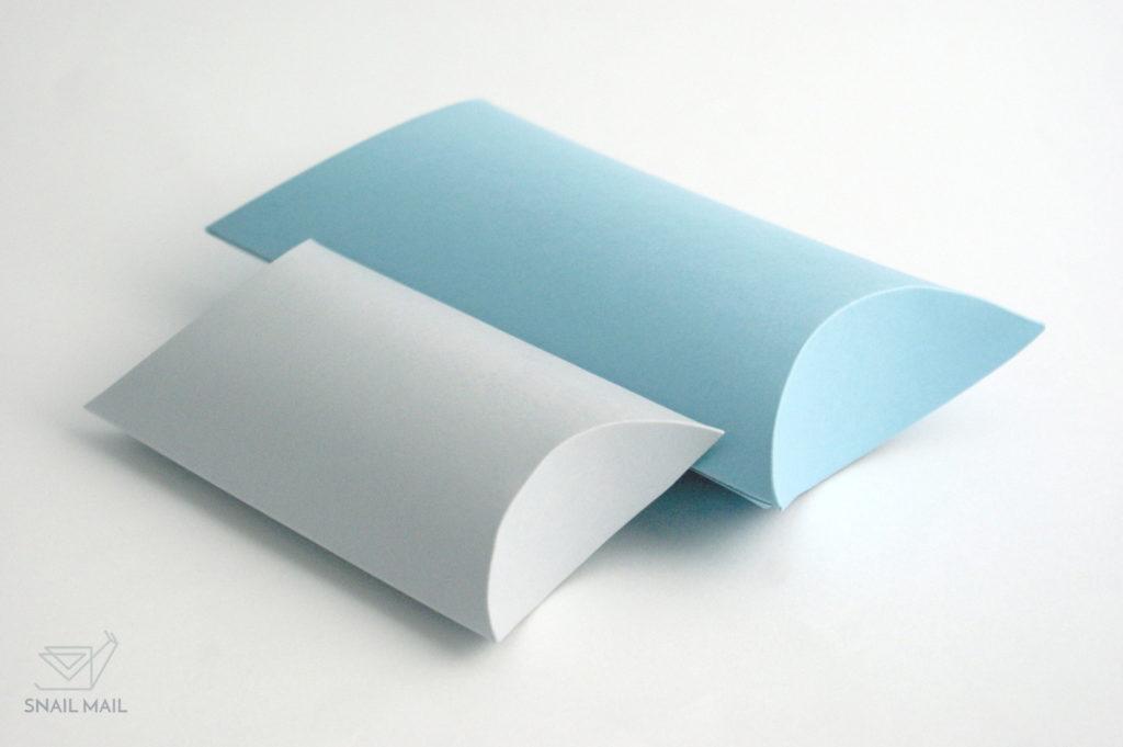 pudełeczko poduszka szablon