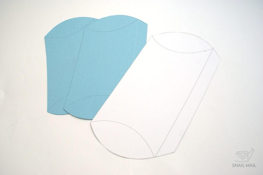 jak zrobić pudełeczko poduszkę darmowy poradnik szablon