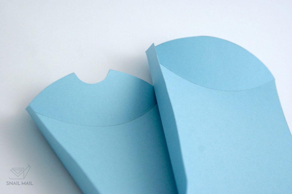 jak zrobić pudełeczko poduszkę tutorial DIY
