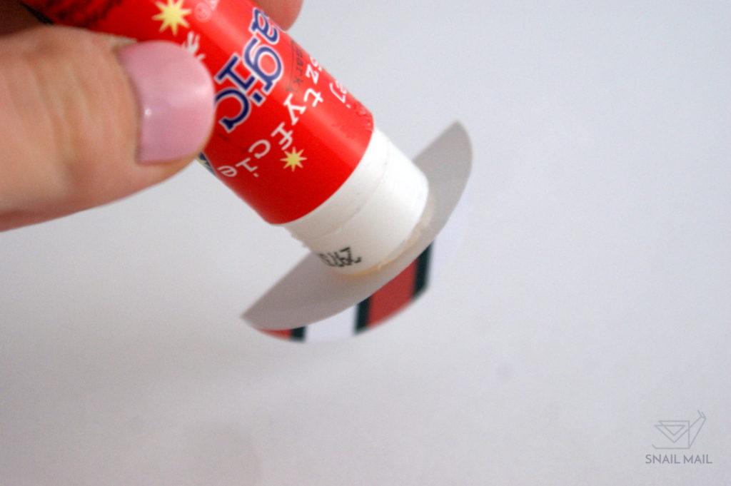 papierowe bombki zrób to sam