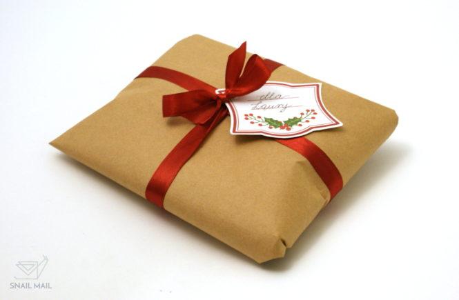 świąteczne bileciki prezentowe