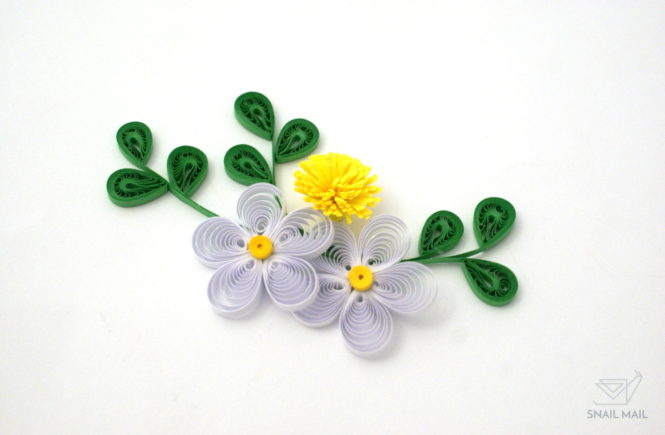 liście quilling
