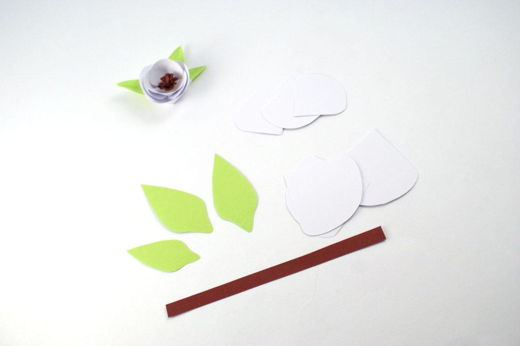 jak zrobić papierowe kwiatki