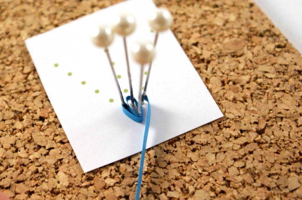 jak zrobić kwiatek husking quilling tutorial