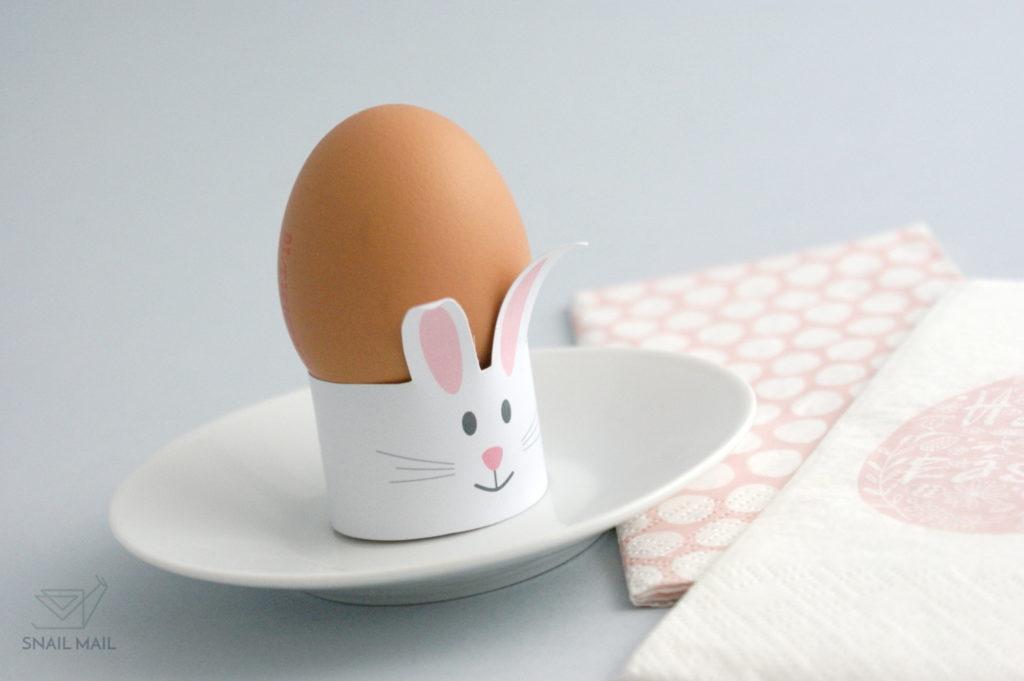 wielkanocne ozdoby jajko zajączek z papieru tutorial diy