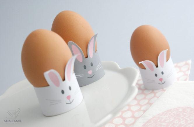 wielkanocne ozdoby jajko zajączek tutorial diy