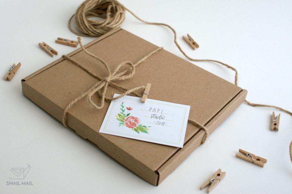 akwarelowe naklejki pakowanie prezentów diy