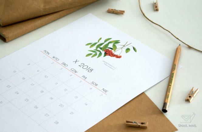 pobierz darmowy kalendarz 2018